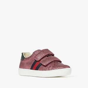 NEW Gucci Kids New Ace V.L. Sneakers (Little Kid)